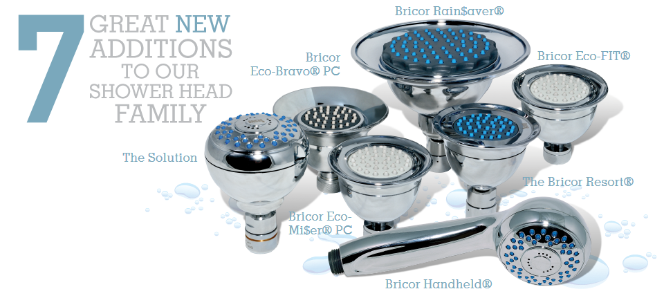 Low Flow Showerheads